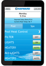 Mobile App for AquaConnect Pool Management